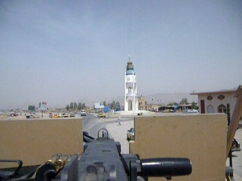 The view from my gun turret