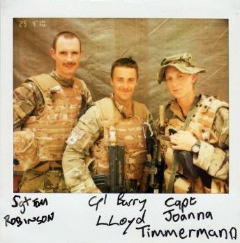 The combat camera team for Operation HERRICK 12