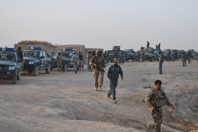 ANSF troops preparing for Operation ZMARAY SARAK 5