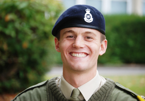Officer Cadet Ledwith
