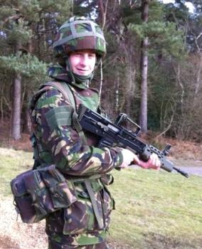 JS Bradnam on the range