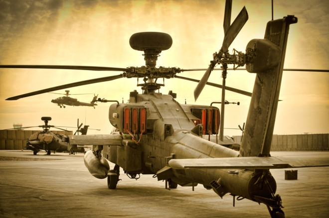 Apache waiting to be called into action