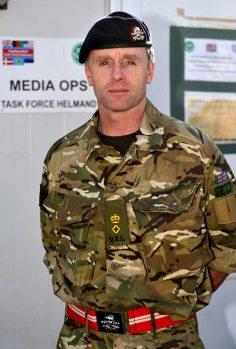 Lieutenant Colonel Tim Purbrick