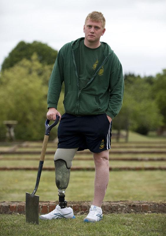 Royal Marine Aaron Moon from Wigan
