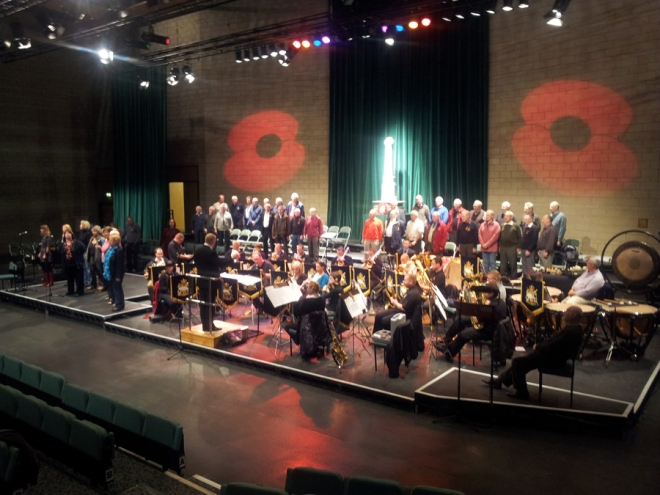 The Heavy Cavalry and Cambrai Band perform at York Barbican.