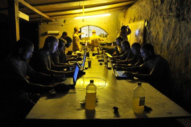 Cyber wars in full swing
