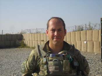 Major Simon Doyle - OC C Coy 1 PWRR