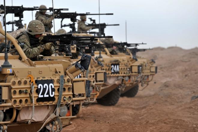 Heavy Weapons Range Day
