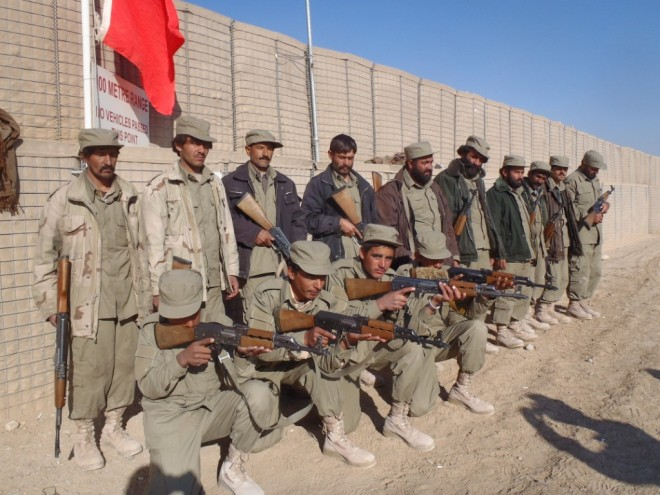 The Afghan Local Police