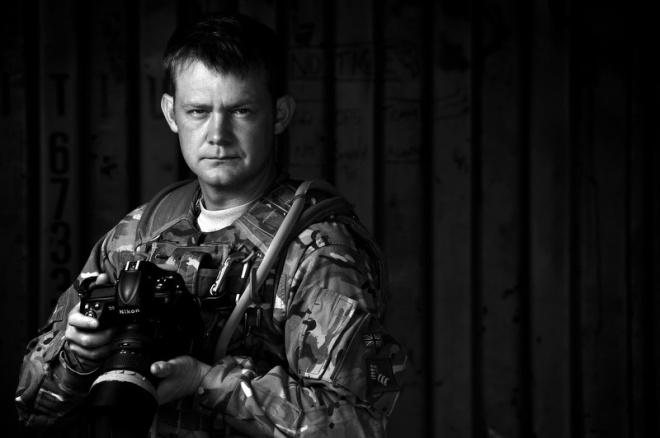 Sgt Wes Calder RLC