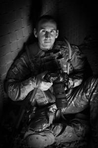 Corporal Andy Reddy RLC