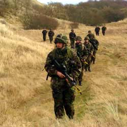 Members of A Company 6 Scots
