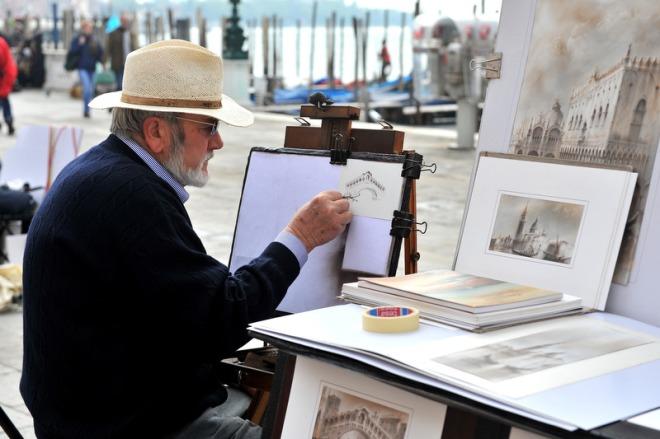 A local artist