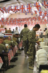 British Army Celebrate Queens Jubilee in Afghanistan