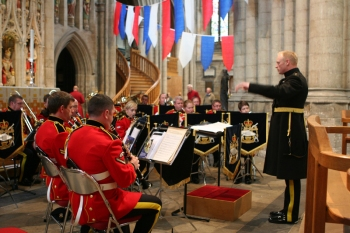 The Band in Ripon Cathedral