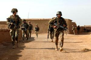 The men and women of the Brigade Advisory Group moved out of Patrol Base Pimon for the start of Operation SHAFUQ.  Operation SHAFUQ (meaning dawn in Pashto/Dari) is the Afghan Armys first major mission of this spring and the essential foundations in suppressing any insurgent attempt at mounting an offensive over the summer