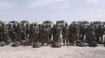 The Afghan National Army prepare for the Operation