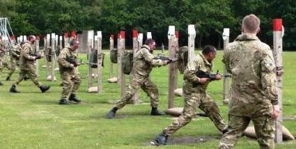 Bayonet range