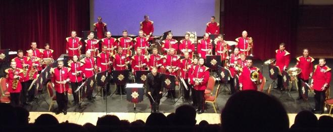 Band at the Island Arts Centre, Lisburn.