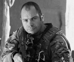 Corporal Mike Hubbard - video operator CCT H17