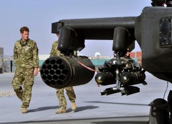 Prince Harry Deploys