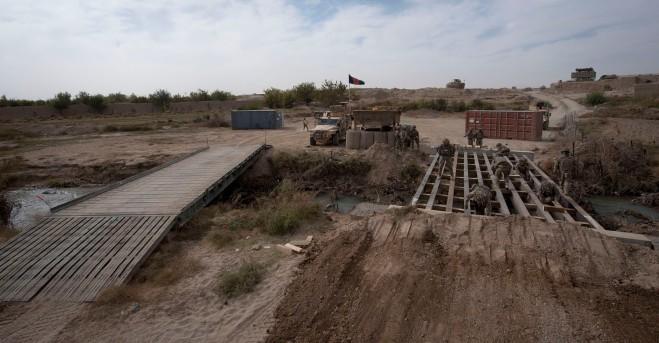 Building bridges in Afghanistan