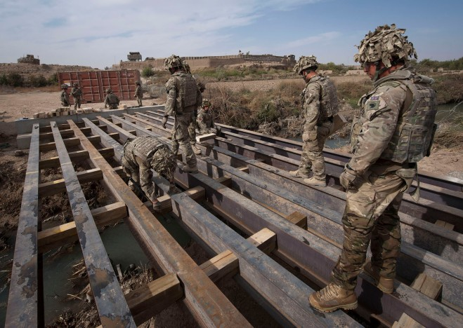 Building bridges in Afghanistan