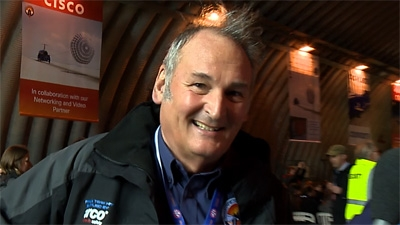 Bloodhound Project Director Richard Noble OBE