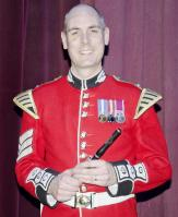 Principal flutist Sergeant James Dutton