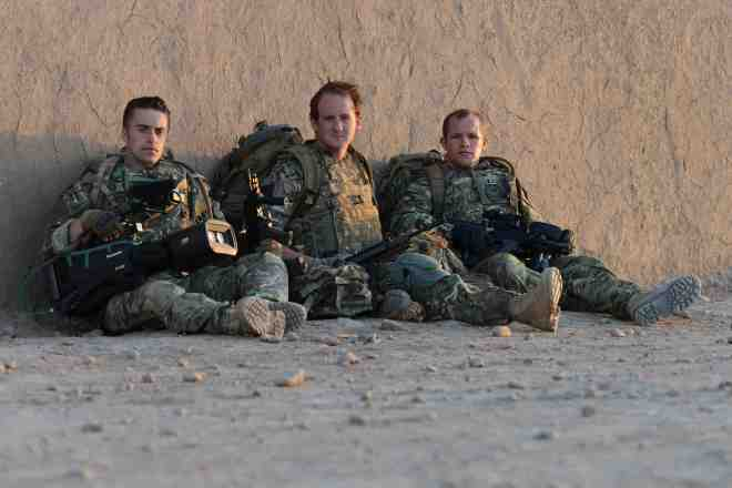 Members of the Combat Camera Team (CCT) in Afghanistan