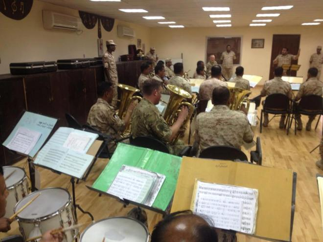 Short term training for the Kuwait Army Band