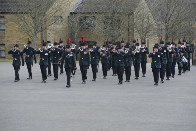 Band and Bugles of The Rifles