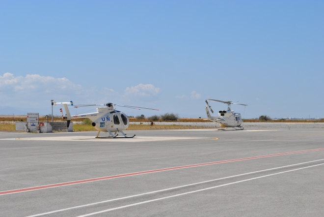 Argentinian helicopters on service with the UN
