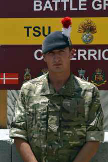 Lance Corporal Joshua Crook