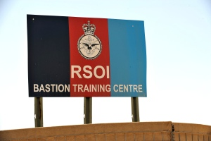 Troops undertake RSOI training. Cpl Si Longworth RLC (phot)