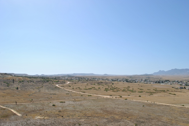 Looking West Sector 2 UNFICYP