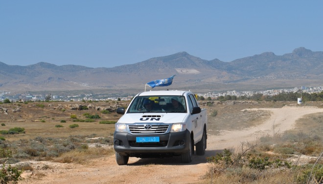 Caption On Patrol West AO Sector 2 UNFICYP