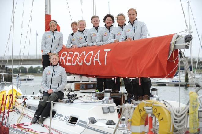 Capt Lucie Allaway (seated), Maj Saskia Hart, WO2 Caz Olive, Maj Sam Shepherd, Capt Emily Williams, Maj Heidi Spencer, Maj Leila Green, Capt Lorna Craik