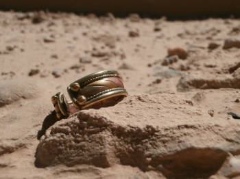My $3 Afghan engagement ring