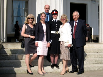 A year and a half on and a commissioned officer – Sandhurst Commissioning Parade