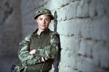 Lt Claire Jackson, OC CCT Herrick 19