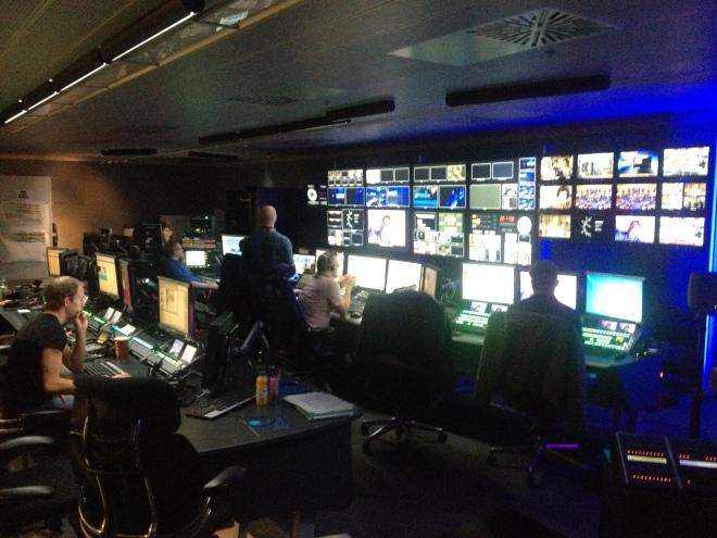 The BBC Newsnight studio