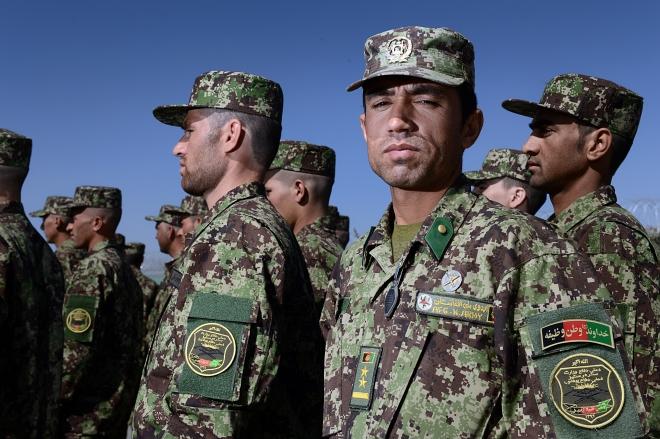 Standing proud. Sgt Dan Bardsley