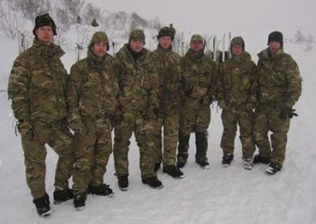 The team in Norway.