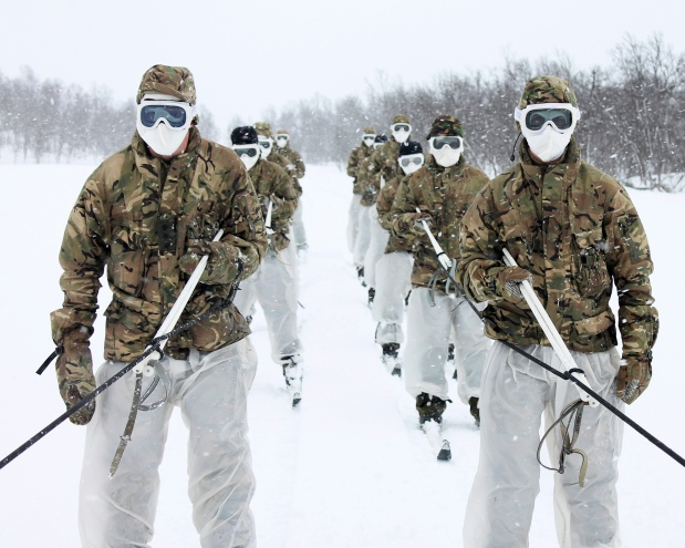 Commando training: Cold Weather Warfare in Norway