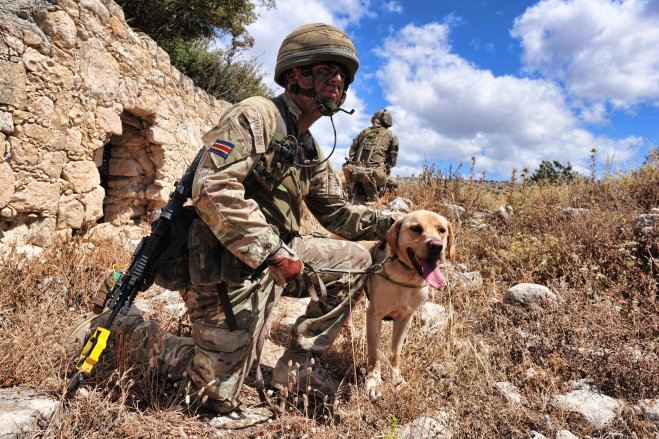 LCpl Millican and Otis