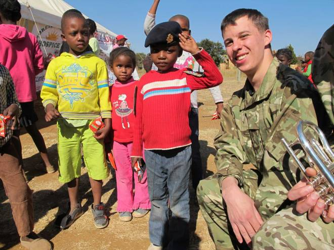 Community engagement by the Corps of Army Music