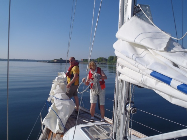 Setting sail with adventurous training