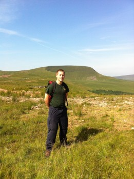 Recruit Vaughan in the Brecon Beacons
