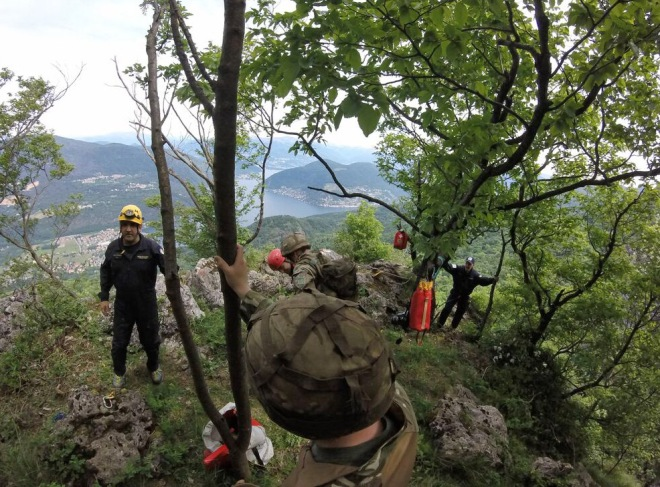 Reserve Engineers compete in Italian Raid